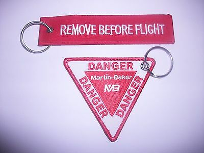 free p+p. NEW STYLE MARTIN BAKER  EJECTIONS SEATS REMOVE BEFORE FLIGHT KEY RING