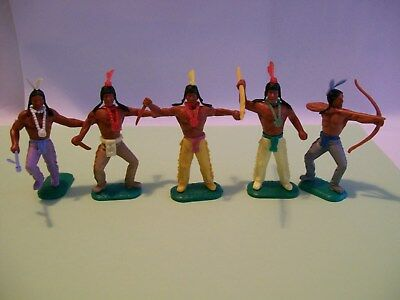 timpo Indians in good condition and are various colours