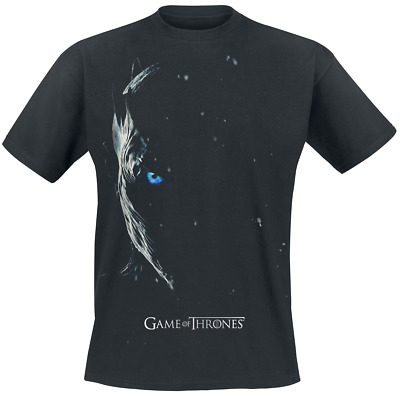 Game Of Thrones Season 7 Poster - Nachtkönig T-Shirt schwarz