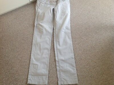 Women's H&M Maternity Chino Style Trousers. Size 10 (Eur 38)