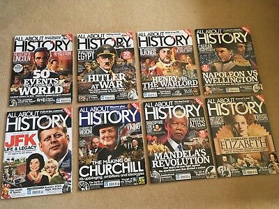 All About History Magazine Bundle Issues 1-63