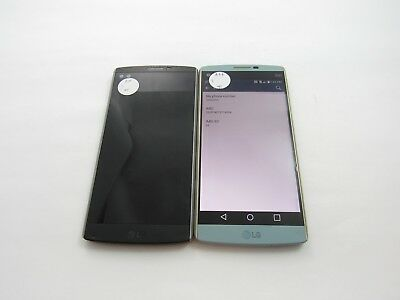 Cracked Lot of 2 LG V10 H900 AT&T Check IMEI 4CR-501