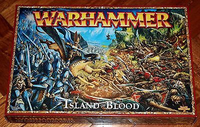 Warhammer Island Of Blood Fantasy Game. New Boxed Set Skaven Vs High Elves Rare!