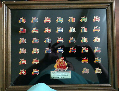 McDonald's Limited-Edition Commemorative 36 Pin 30th Birthday Set #1061