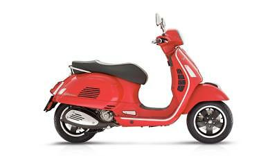 Vespa Gts 125 Super Abs - 1 Only In Red
