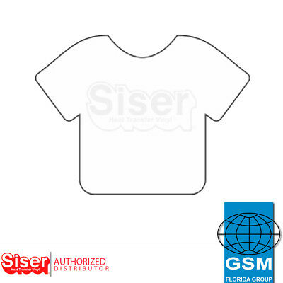 "SISER HTV EasyWeed Heat Transfer Vinyl 12"" x 5 yards WHITE"