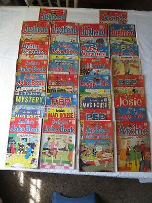 Comic Books 12¢ & 15¢ Mixed Lot Archie Series Lot of 30 Little Archie Mystery #1