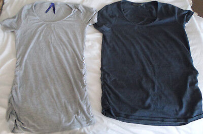 2 x Seraphine and Mothercare Maternity Tops T-Shirt Size 8 & Medium