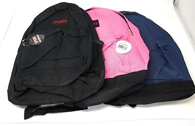 "Wholesale Lot of 16"" School Bags / Backpacks KnapSack Great for Back to School"