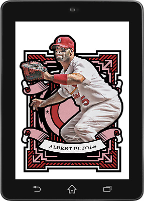 Topps BUNT Albert Pujols MIDSUMMER LEGENDS 2018 [DIGITAL CARD]