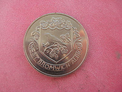 West Bromwich Alb F.a. Cup Centenary 1872-1972  Silver Coloured Medal Token