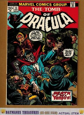 Tomb of Dracula #13 (6.5) Fine+ 1st Blade Origin Told 1973 Bronze Age Key Issue