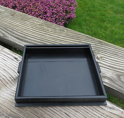 Small Wooden Tray With No Visible Ebony Mark - Dressing Table / Desk Tidy ?