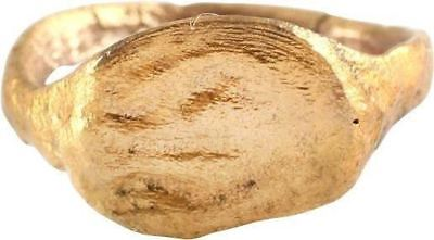 EARLY CHRISTIAN GIRLS RING 5th-8th CENTURY AD