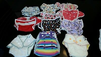 Cloth Fitted Diapers and Thirsties Covers