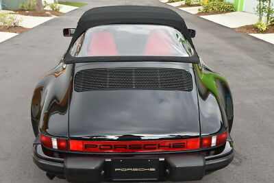 1985 Porsche 911 Turbo look M491 Cab 1 of 73 USA Turbo look M491 Cab 1 of 73 USA and 1 of 240 Worldwide, Original paint