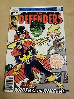 The Defenders #51 (1977) VF+ HIGH GRADE KEY APP HULK AVENGERS SEE MY OTHER BOOKS