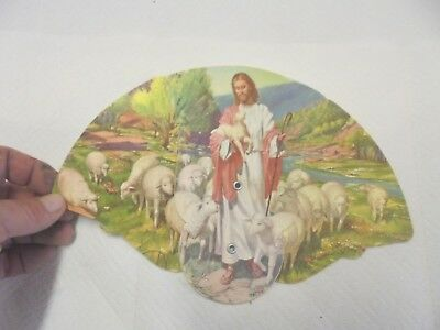 paper fan brown funeral home farnhamville lohrville iowa religious shepherd lamb