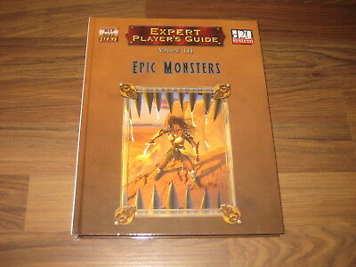 d20 Expert Player's Guide Volume III  Epic Monsters HC 2006 Mongoose MGP 9022 EX