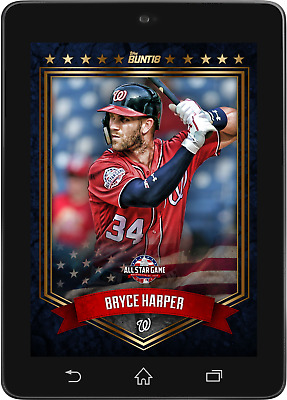 Topps BUNT Bryce Harper BASE All-Star Game 2018 [DIGITAL CARD]