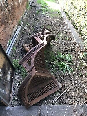 Antique Cast Iron Spiral Staircase From Victoria Park Raceway Sydney