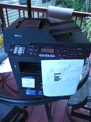 Brother MFC-8710DW AIO 40PPM B/W Laser Printer Fax Scan Copy ADF Wireless #3
