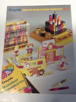 Preowned 1986 Crayola Product Catalog