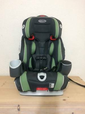 Graco Nautilus 65 3-in-1 Harness Booster Car Seat, Green and Black