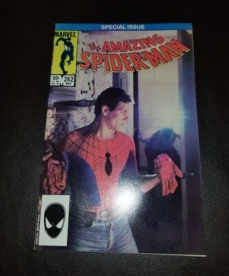 The Amazing Spider-Man #262 (1985) NM HIGH GRADE PHOTO COVER UNMASKED KEY APP🔥