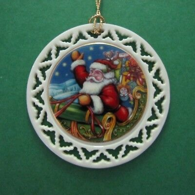 LENOX Ornament - 'Twas the Night Before Christmas - And to All a Good Night