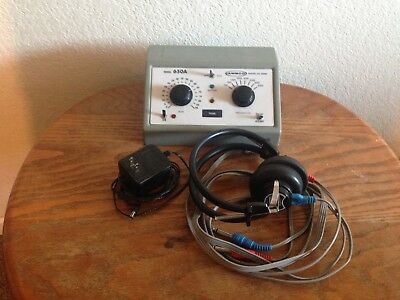 AMBCO 650A Hearing Tester / Audiometer - Tested - Free Shipping