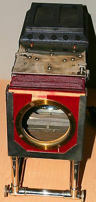 Vintage Underwood And Underwood Glass Slide Projector With Bulb And Lens, Works
