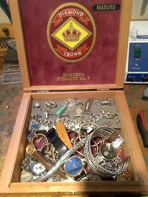Huge Vintage & Now Jewelry Box Lot Estate Find Junk Drawer UNSEARCHED!!!