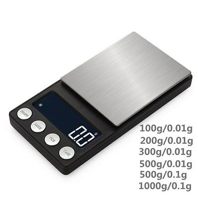 USB Electronic Pocket Mini Digital Jewellery Weighing Scales 0.01G to 1000 Grame