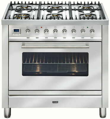 Ilve 90cm Gas Freestanding Cooker - NT906WVG/I