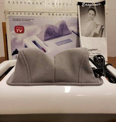 Easytoner Portable Shiatsu Power Kneading Fingers Body Massager YS-600