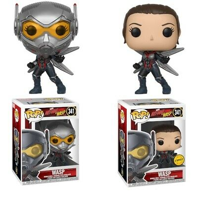 Funko Pop! Ant-Man and the Wasp: Wasp #341 Common and Chase w/ Box Protector