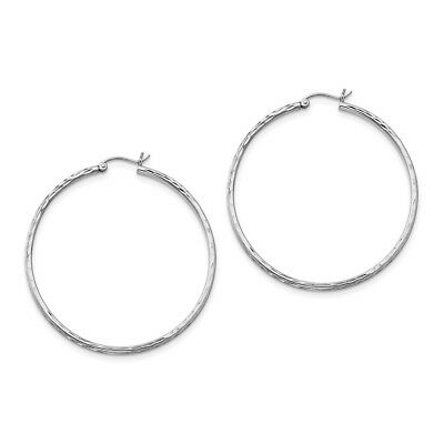 2d8dbf1c2f4f1 SMALL TINY 2MM wide hoop hoops earrings sterling silver 925 for ...
