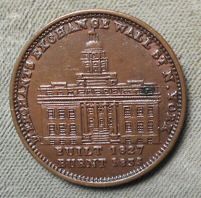 Hard Time HT-291 Low-95 Rarity-1 Merchants Exchange New York