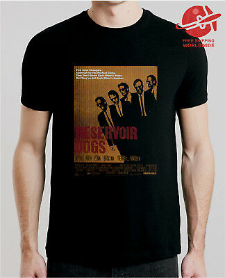 Reservoir Dogs Movie T-Shirt Xs-5Xl Fast Free Shipping Classic Retro Vintage