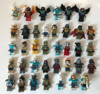 Lego Legend Of Chima Lot Minifigures A Choisir To Choose