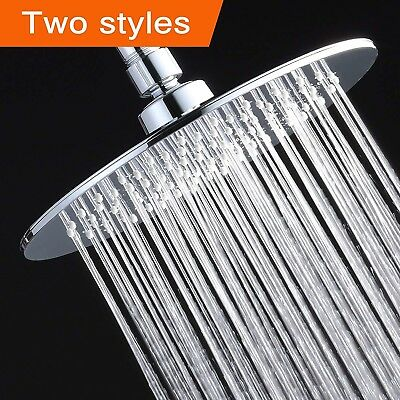 Albustar Luxury Rainfall Shower Head With High Pressure and Spa Experience, Poli