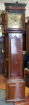 Antique 8 Day Grandfather Clock, Matthew Bufhell - Delivery Arranged