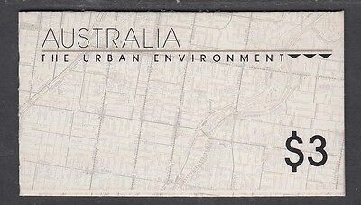 Australia 1989 Urban Environment Empty Booklet Redeemable for 13c - B159a