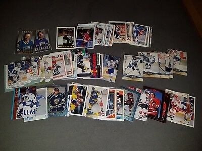 62x Eishockey Playercards Tradingcards NHL Schweden International AHL Ex DEL