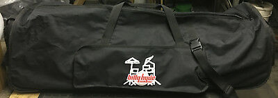 Billy Hyde Heavy Duty Drum Stand Bag With Skids & Wheels In Very Good Condition