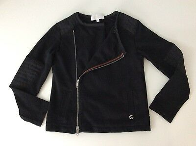 Gucci Girls Slim Fit Jacket, Cardigan, Size Age 5 Years, Black, Vgc