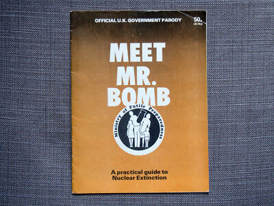 MEET MR BOMB UK nuclear attack Cold War civil defence Protect and Survive parody