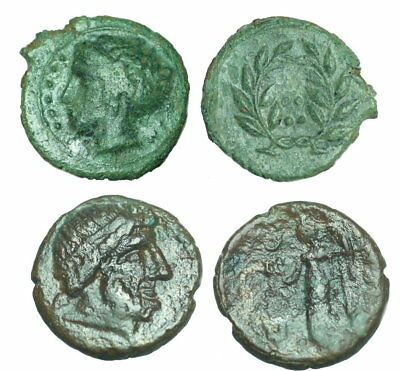 Sicily  Himera / Syracus  lot of 2 coin
