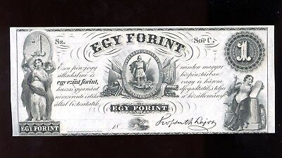 $1 EGY FORINT Series C New York, NY Hungarian Fund UNC